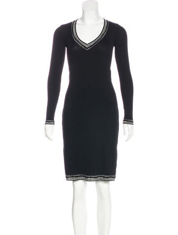 Missoni Knit Knee-Length Dress None