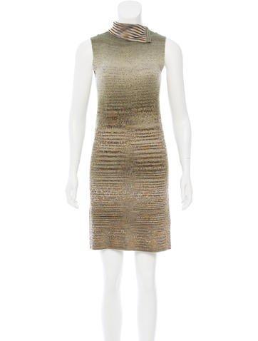 Missoni Metallic Mini Dress None