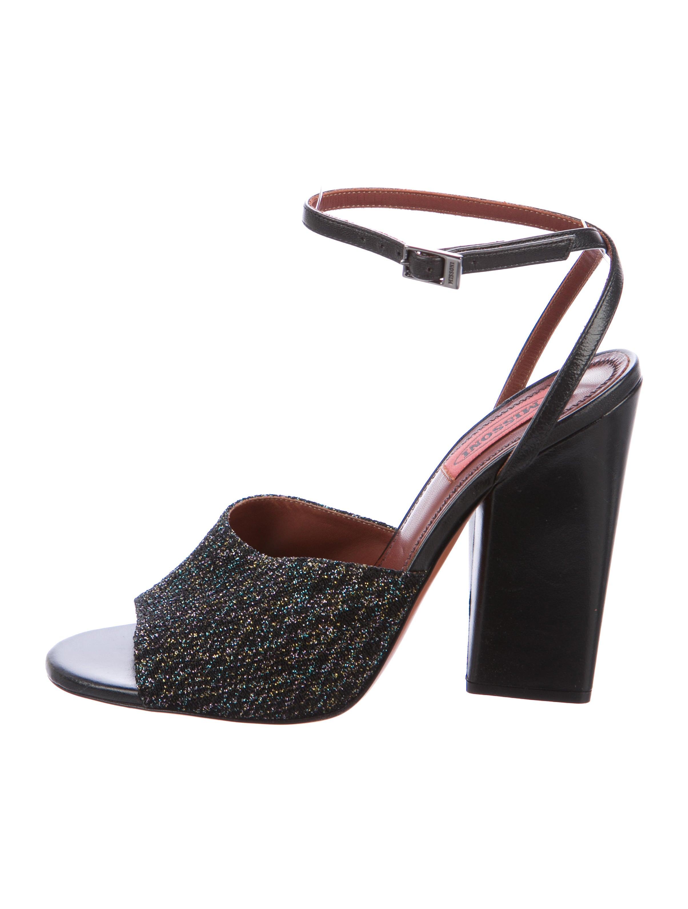 Missoni Glitter Sandals cpEZWd7jBc