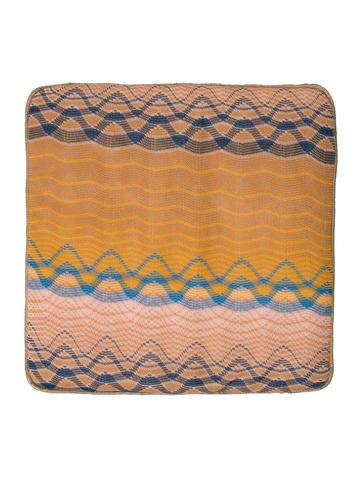 Missoni Patterned Seat Pad None