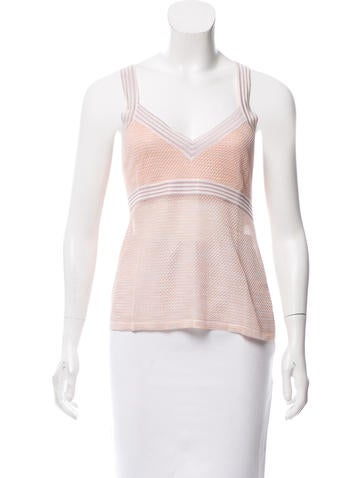 Missoni Silk V-Neck Top None