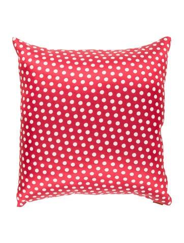 Missoni Polka Dot Throw Pillow None