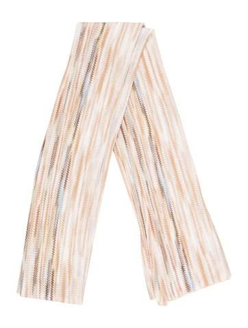 Missoni Striped Knit Scarf None