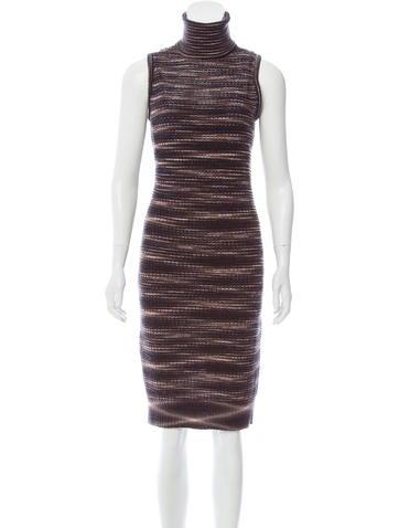 Missoni Sleeveless Sweater Dress None