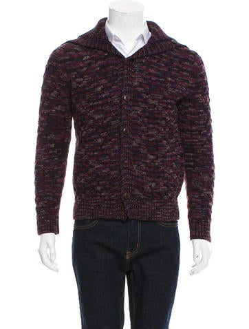 Missoni Wool Rib Knit Cardigan None