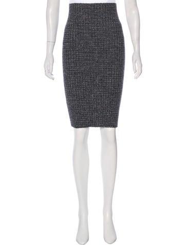 Missoni Wool-Blend Knee-Length Skirt None