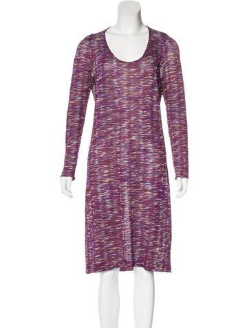 Missoni Metallic Knit Dress None
