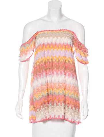 Missoni Patterned Knit Tunic w/ Tags None