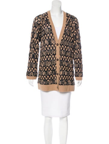 Missoni Patterned Wool Cardigan None