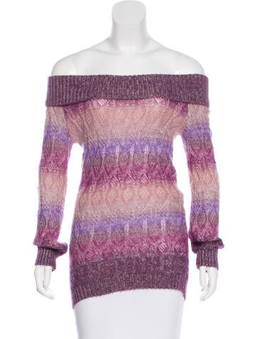 Missoni Ombré Cable Knit Sweater None
