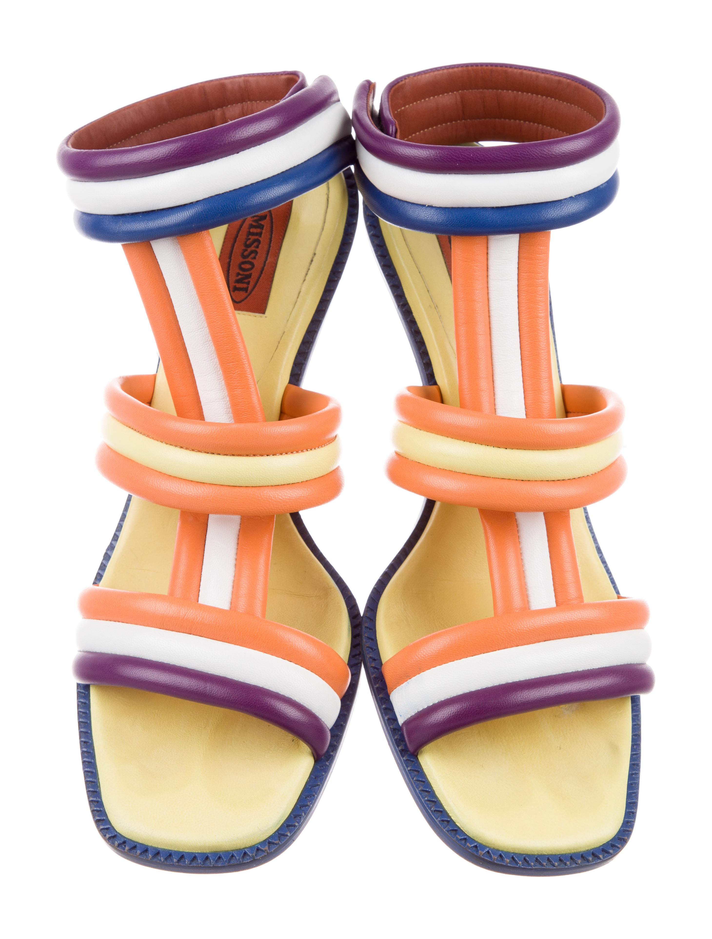 Missoni Quilted Multistrap Sandals cheap sale pay with paypal sale affordable cheapest kzTCMl5rlc