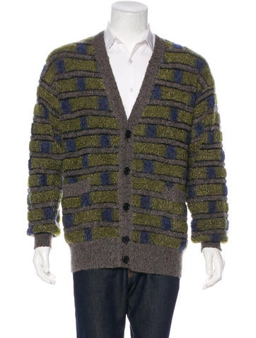 Missoni Knit Patterned Cardigan None