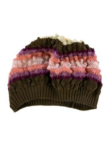 Missoni Wool Striped Beanie None