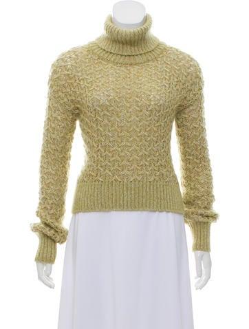 Missoni Turtleneck Knit Sweater None