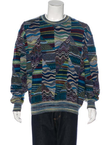 Missoni Wool-Blend Embroidered Sweater None
