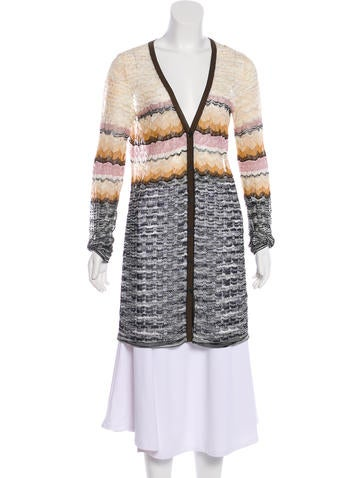 Missoni Button-Up Knit Cardigan None