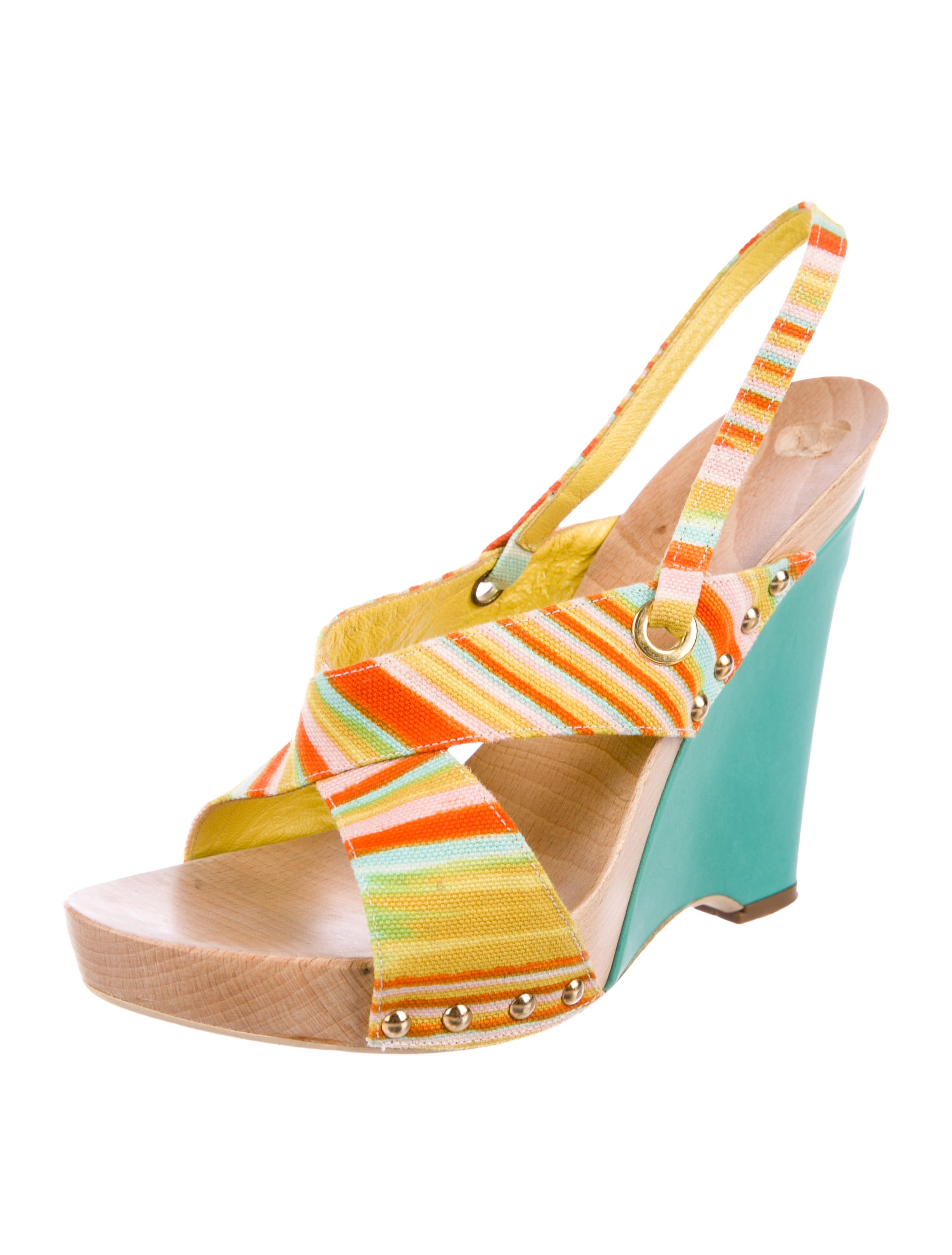 excellent Missoni Woven Slingback Wedges clearance new cheap sale Manchester great deals cheap price huge surprise online RQ8gR