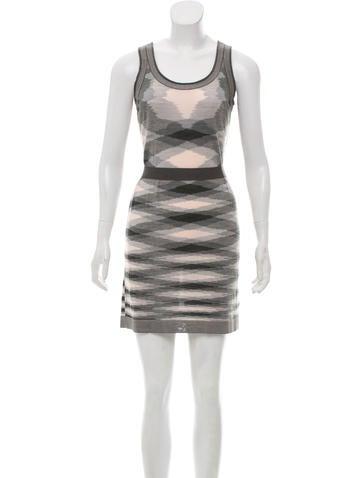 Missoni Wool Intarsia Dress None