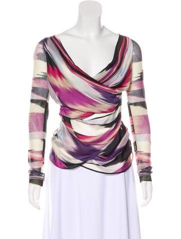 Missoni Wool & Silk-Blend Top None