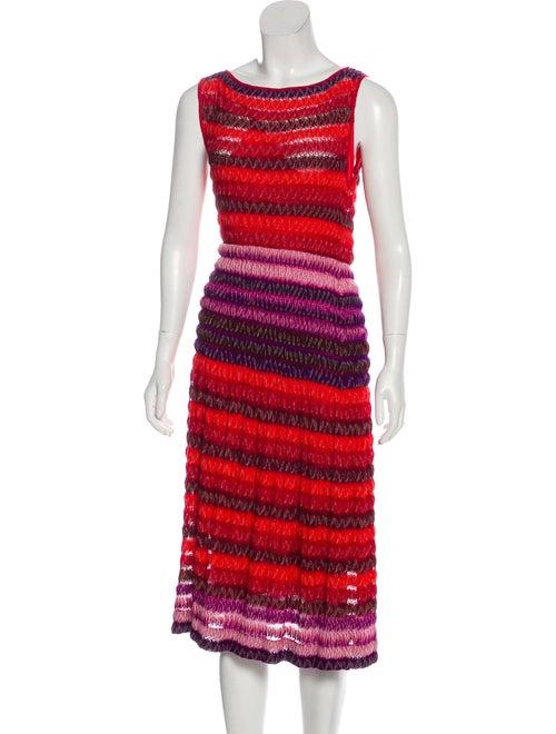 Missoni Missoni Knit Dress multicolor