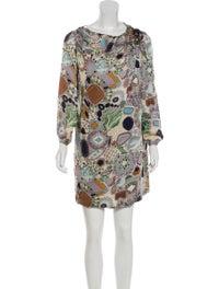Printed Silk Dress image 1