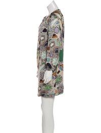 Printed Silk Dress image 2