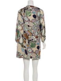 Printed Silk Dress image 3