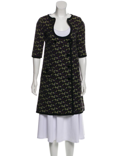 Missoni Short Sleeve Jacquard Jacket Black