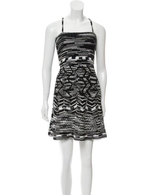 Missoni Knee-Length Knit Dress Black