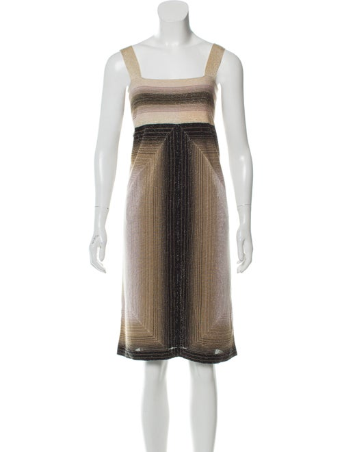 Missoni Metallic Sleeveless Dress Metallic