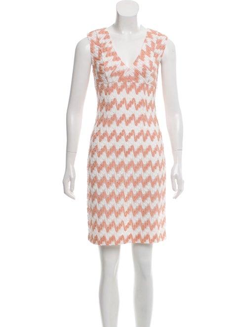 Missoni Knit Mini Dress white