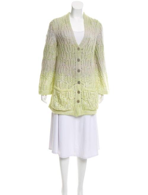 Missoni Cashmere Knit Cardigan Green