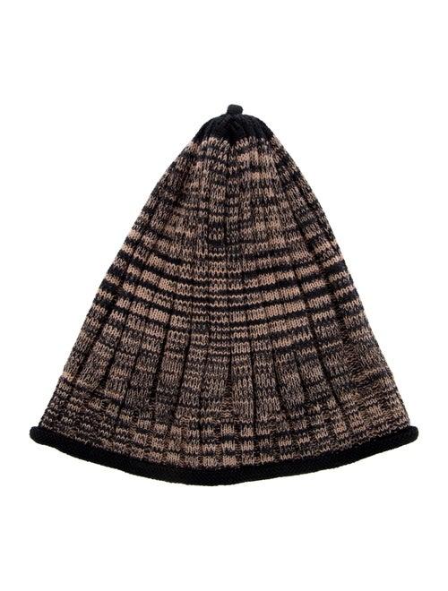 Missoni Wool-Blend Knit Beanie Tan