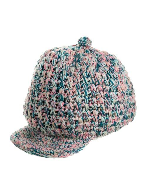Missoni Wool Knit Hat Blue
