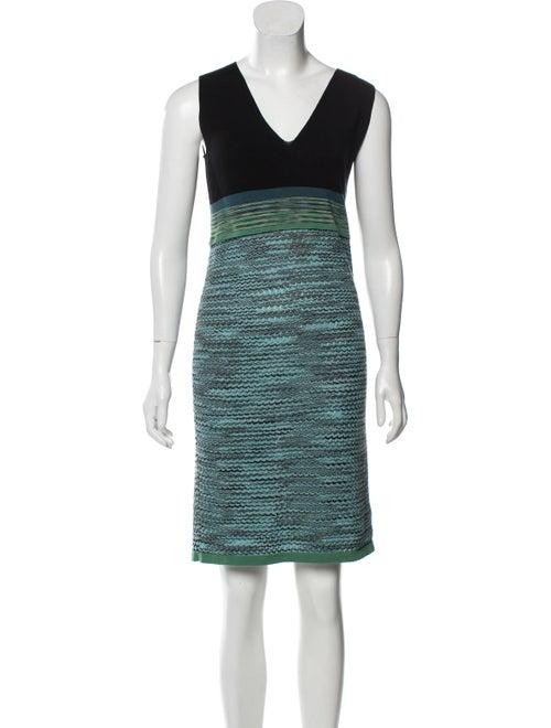 Missoni Knit Sleeveless Dress Black