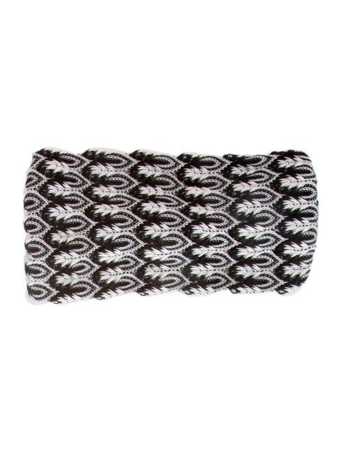 Missoni Chevron Knit Headband Black