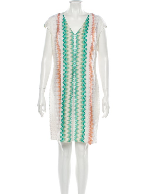 Missoni Printed Mini Dress