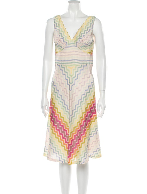 Missoni Printed Knee-Length Dress