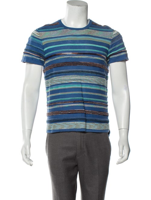 Missoni Knit T-Shirt blue