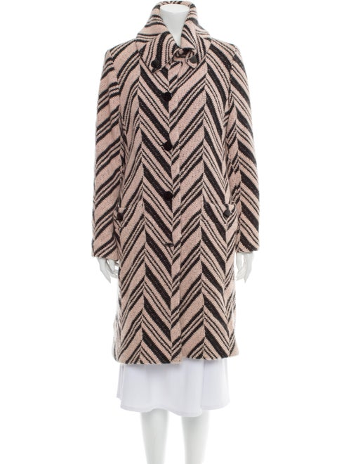 Missoni Wool Striped Coat Wool