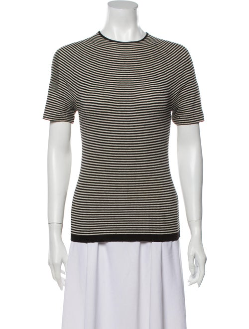Missoni Short Striped Top Black