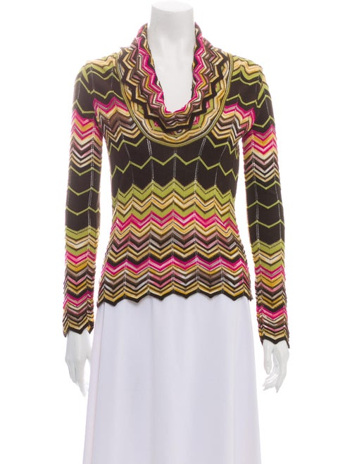 Missoni Wool Striped Sweater Wool