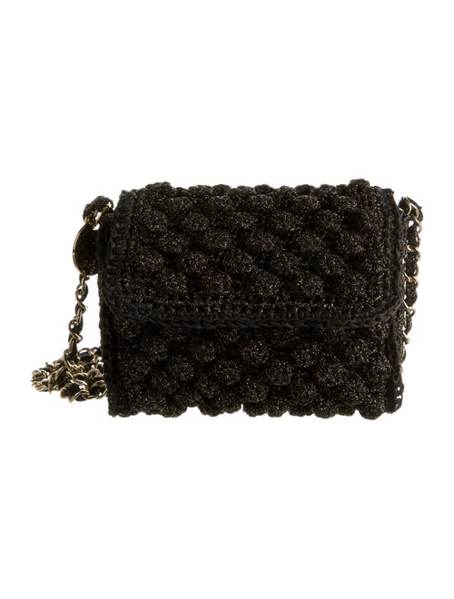Missoni Woven Crossbody Bag Black