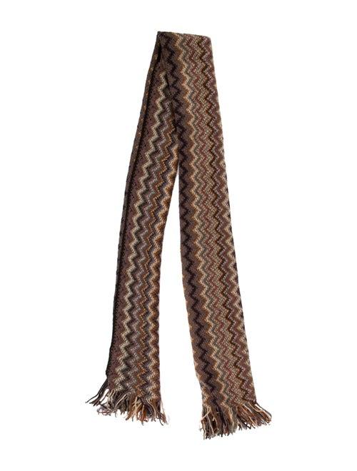 Missoni Knit Scarf Mauve