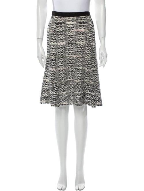 Missoni Wool Knit Skirt Black