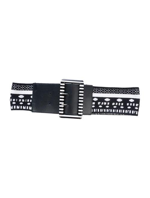 Missoni Woven Wide Belt Black