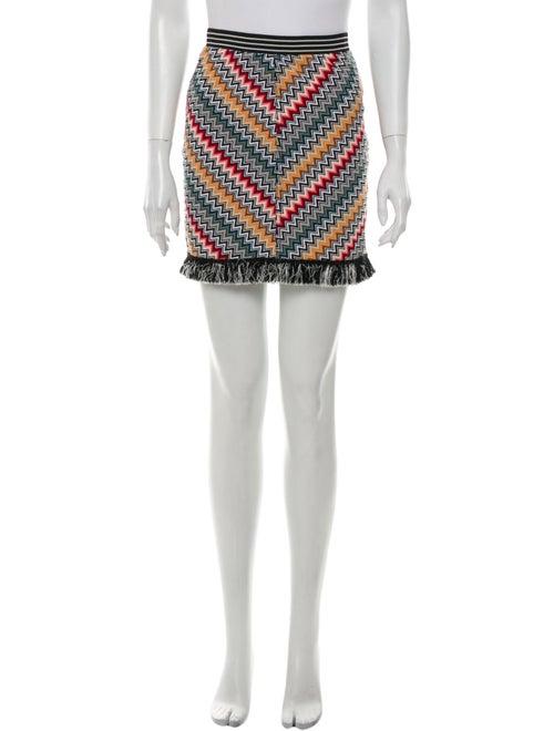 Missoni Printed Mini Skirt