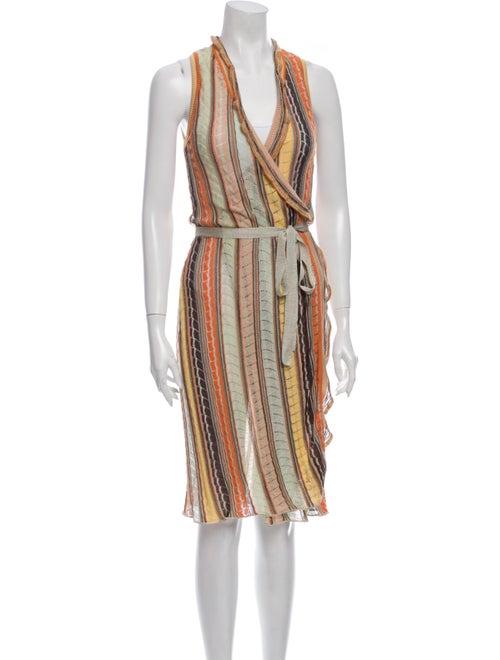 Missoni Striped Midi Length Dress