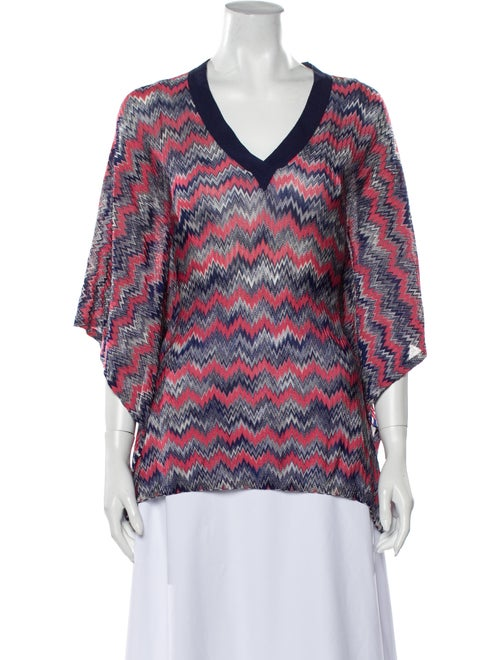 Missoni Printed Cover-Up Blue
