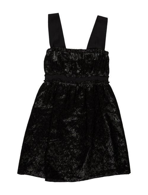 Missoni Silk Mini Dress Black